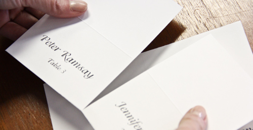 How To Print Place Cards LCI Paper Co