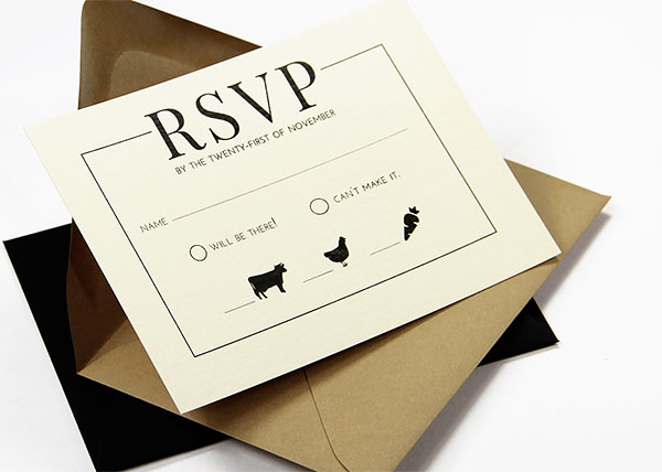 Wedding RSVP Envelopes RSVP Return Envelopes
