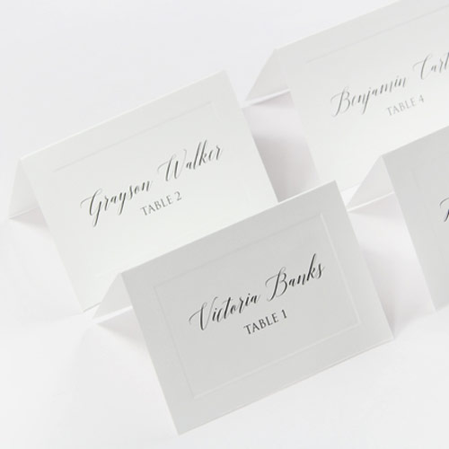 Printable Place Cards For Weddings, Parties LCI Paper