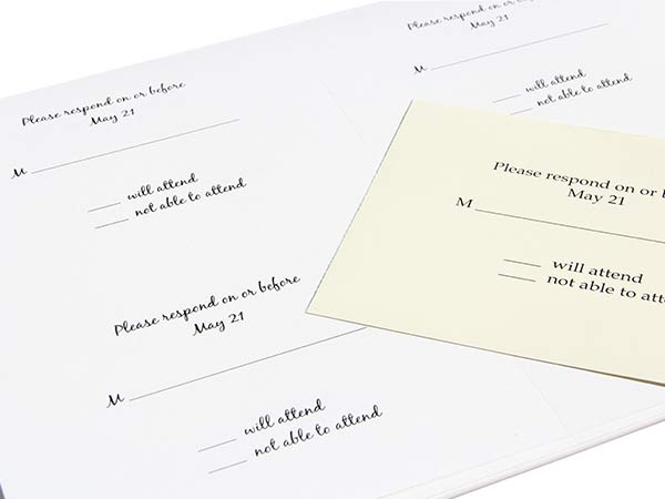 Embossed Blank Cards 2up Printable - LCI Paper