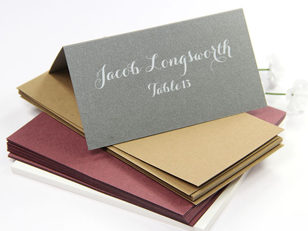 Place Cards Folded, Blank or Printed - LCI Paper