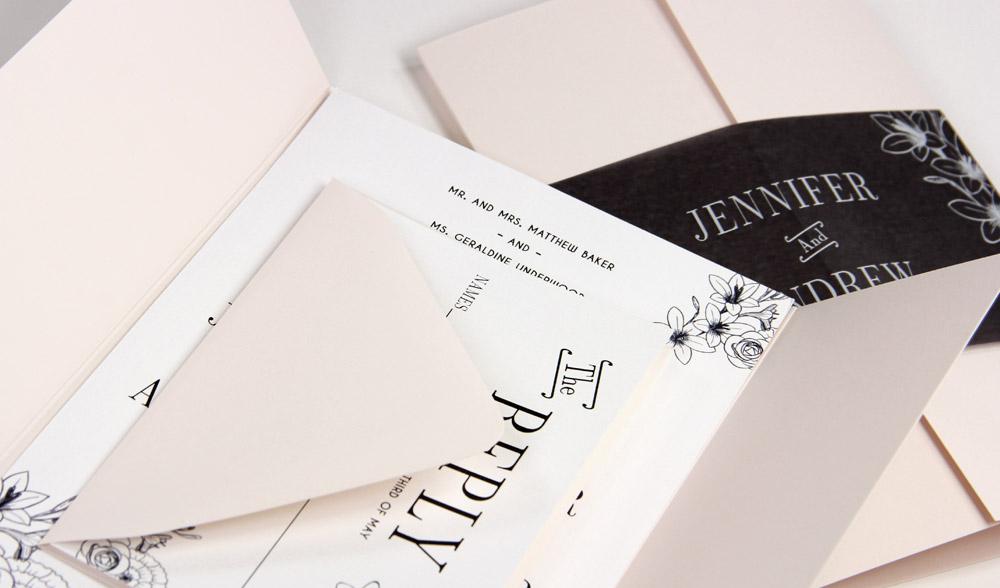 Gate Folds Blank Cards, Invitations - LCI Paper