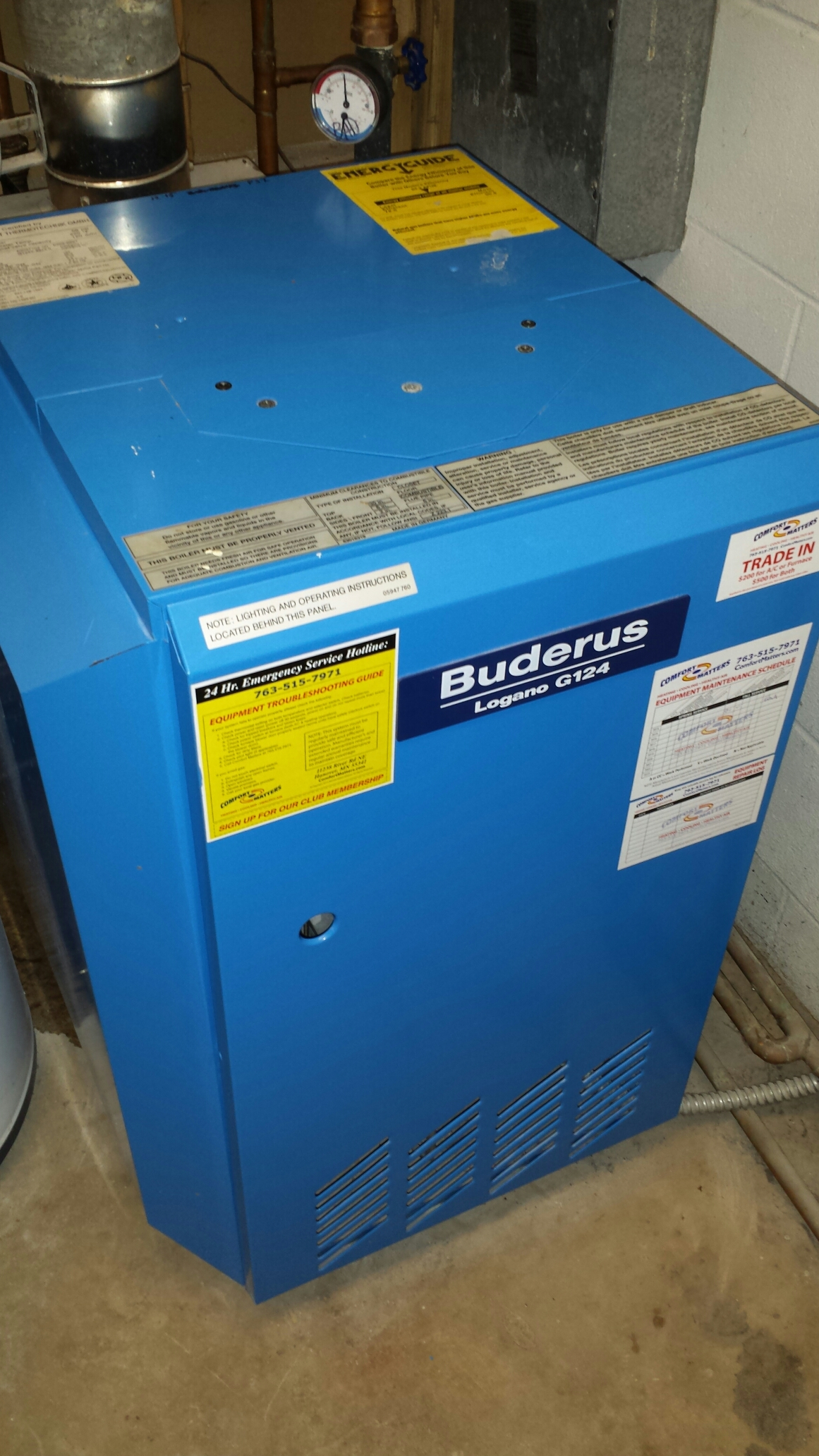 Buderus Service Hotline Furnace Air Conditioning Repair In Rockford Mn