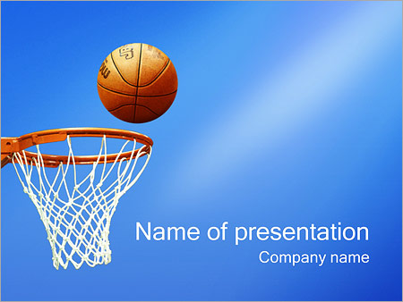 Basketball PowerPoint Template, Backgrounds  Google Slides - ID