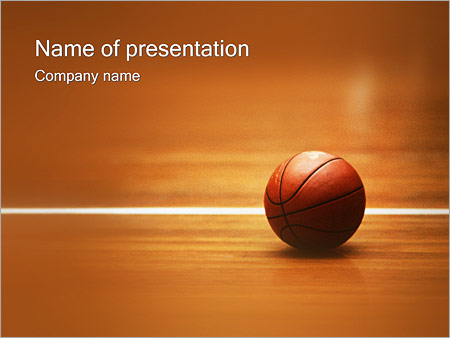 Basketball NBA PowerPoint Template, Backgrounds  Google Slides - ID