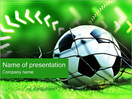 Football PowerPoint Template, Backgrounds  Google Slides - ID - football powerpoint template