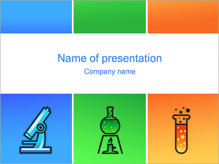 Chemistry PowerPoint Template, Backgrounds  Google Slides - ID