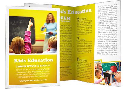 School Education Brochure Template  Design ID 0000000533