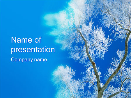 Winter PowerPoint Template  Backgrounds ID 0000000556