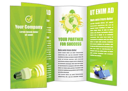 Alternative Technology Brochure Template  Design ID 0000000596