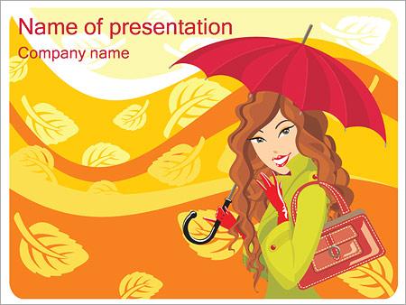 Autumn Season PowerPoint Template, Backgrounds  Google Slides - ID