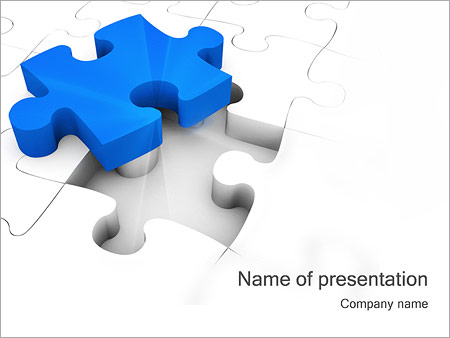 Jigsaw Puzzle PowerPoint Template, Backgrounds  Google Slides - ID