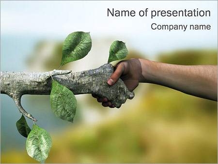 Human  Nature PowerPoint Template  Backgrounds ID 0000000850