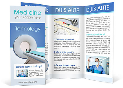 Modern Medical Brochure Template  Design ID 0000000912 - Medical Brochure Template