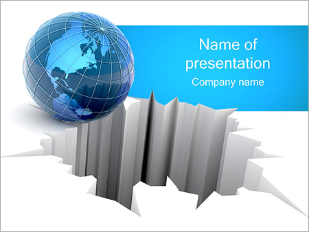 Global Catastrophe PowerPoint Template, Backgrounds  Google Slides - global powerpoint template