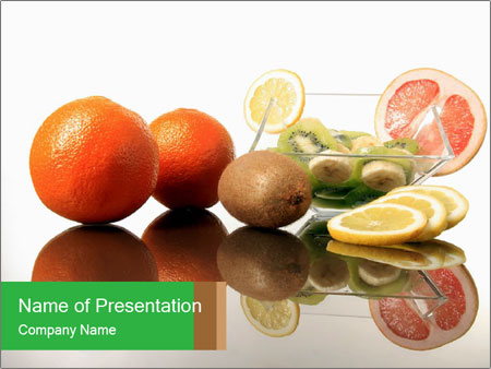 Nutrition - PowerPoint Template - SmileTemplates