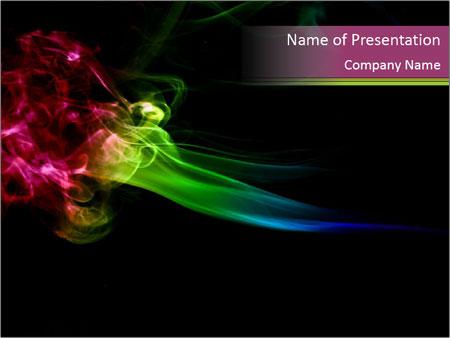 Smoke - PowerPoint Template - SmileTemplates