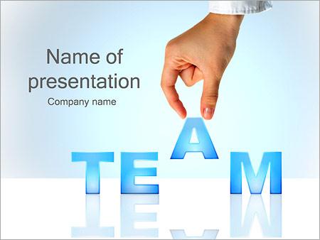 Team - Business PowerPoint Template, Backgrounds  Google Slides
