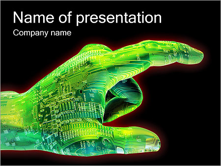 circuit board powerpoint template - Onwebioinnovate
