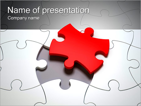 Part Of The Puzzle PowerPoint Template, Backgrounds  Google Slides - puzzle powerpoint template