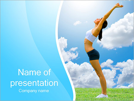 Wellness PowerPoint Templates  Backgrounds, Google Slides Themes
