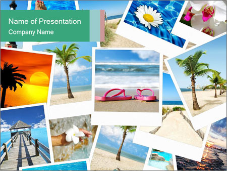 Photo Memories PowerPoint Template, Backgrounds  Google Slides - ID