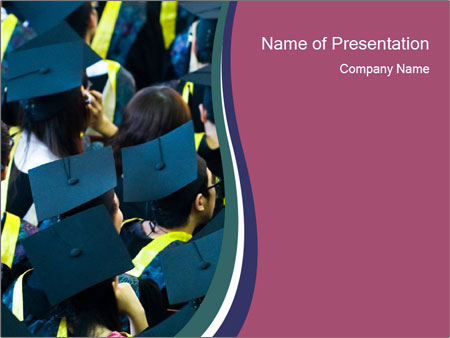 Happy Graduation Ceremony PowerPoint Template, Backgrounds  Google