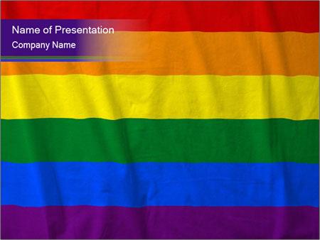 Rainbow - PowerPoint Template - SmileTemplates