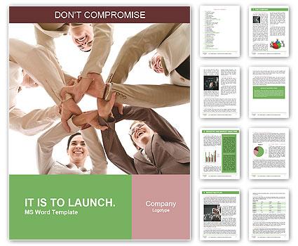 Teambuilding Word Template  Design ID 0000004025 - SmileTemplates