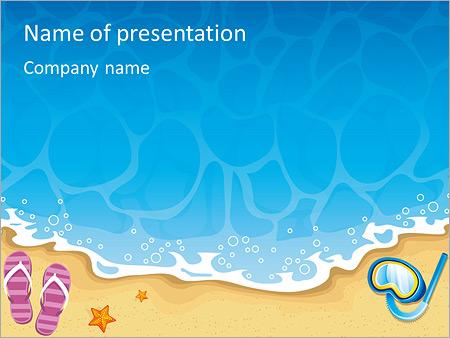 Summer Powerpoint Template masterlistforeignluxury