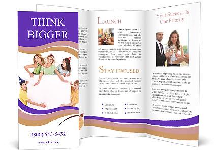 Fun Birthday Party Brochure Template  Design ID 0000004077 - party brochure template