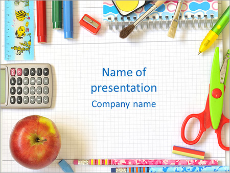 School PowerPoint Templates  Backgrounds, Google Slides Themes