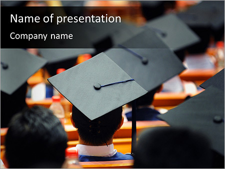 graduation powerpoint template - Pinarkubkireklamowe