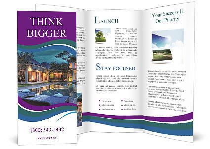 Luxury Resort Brochure Template  Design ID 0000004937