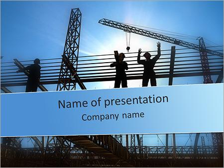 Construction PowerPoint Templates  Backgrounds, Google Slides