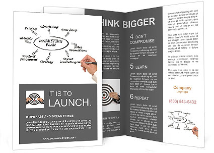 Marketing Plan Brochure Template  Design ID 0000006770 - marketing brochure