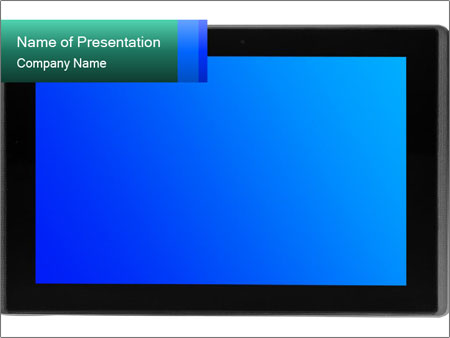 Big Tv Screen PowerPoint Template, Backgrounds  Google Slides - ID