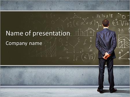 Mathematics - PowerPoint Template - SmileTemplates
