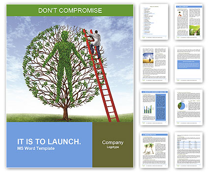 Intercourse with nature Word Template  Design ID 0000008149