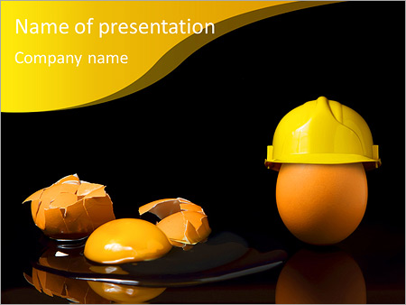 All for safety PowerPoint Template, Backgrounds  Google Slides - ID