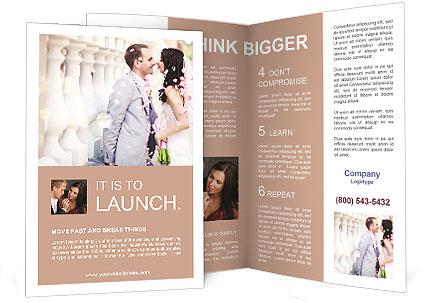 Wedding Brochure Template  Design ID 0000009411 - SmileTemplates - wedding brochure template