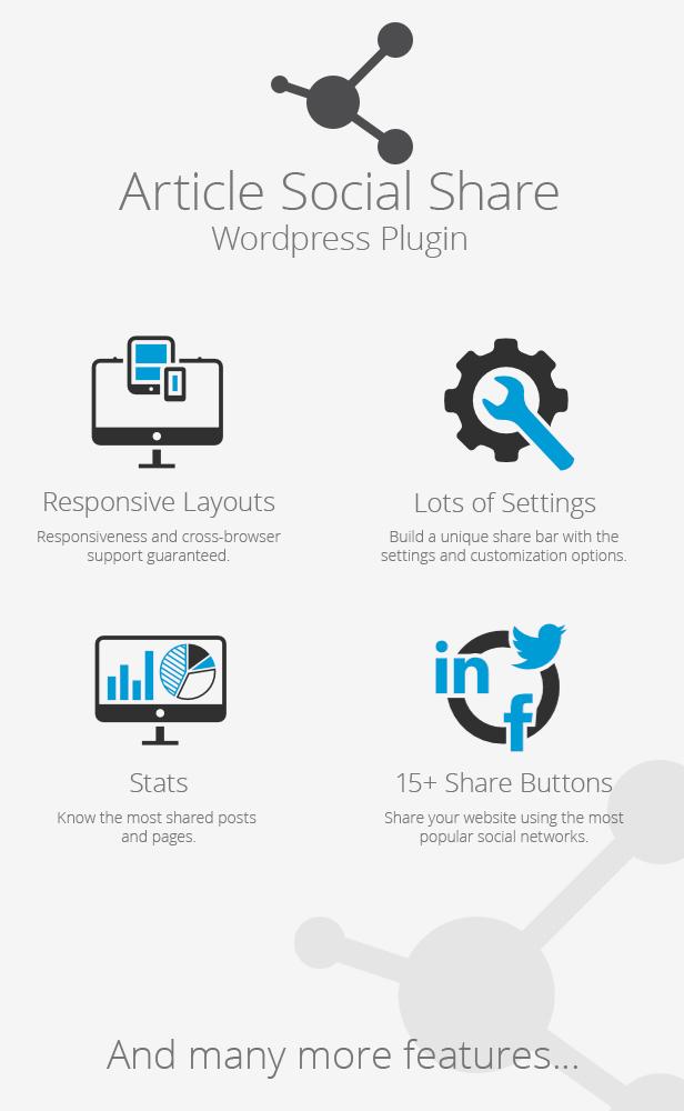 Wordpress Article Social Share by DPereyra CodeCanyon