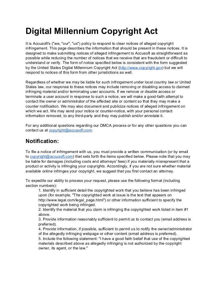 Digital Millennium Copyright Act edocr