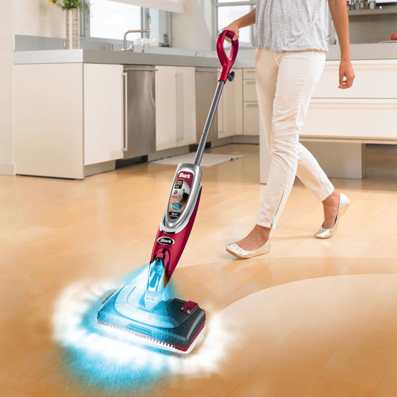 Shark Steam Mop Hardwood Floors Shark Ss460d Steam & Spray Pro Mop W/ Electronic Steam