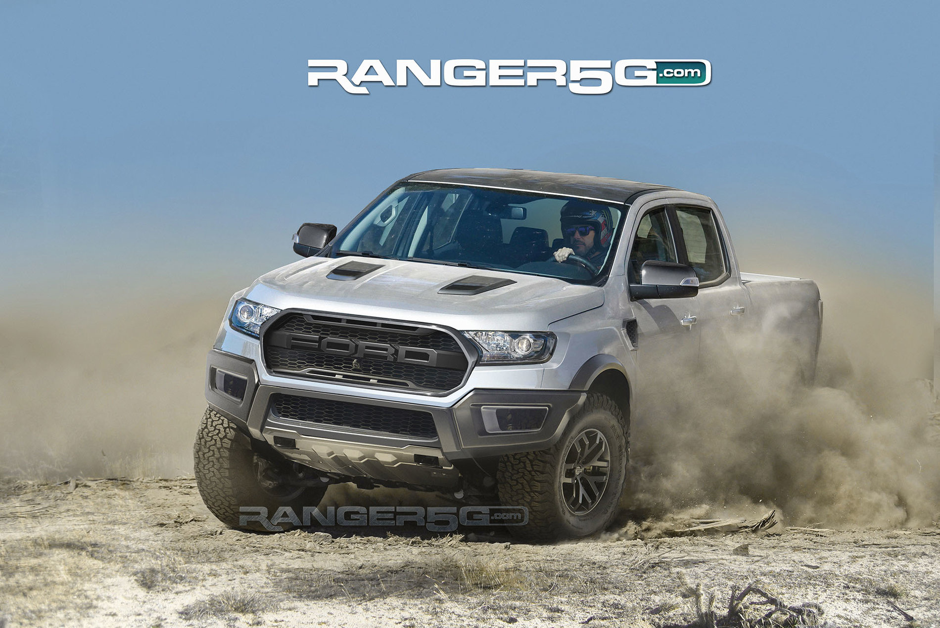 Monster Rally Car Wallpaper Awesome Ford Ranger Raptor Renderings Show Off Kickass