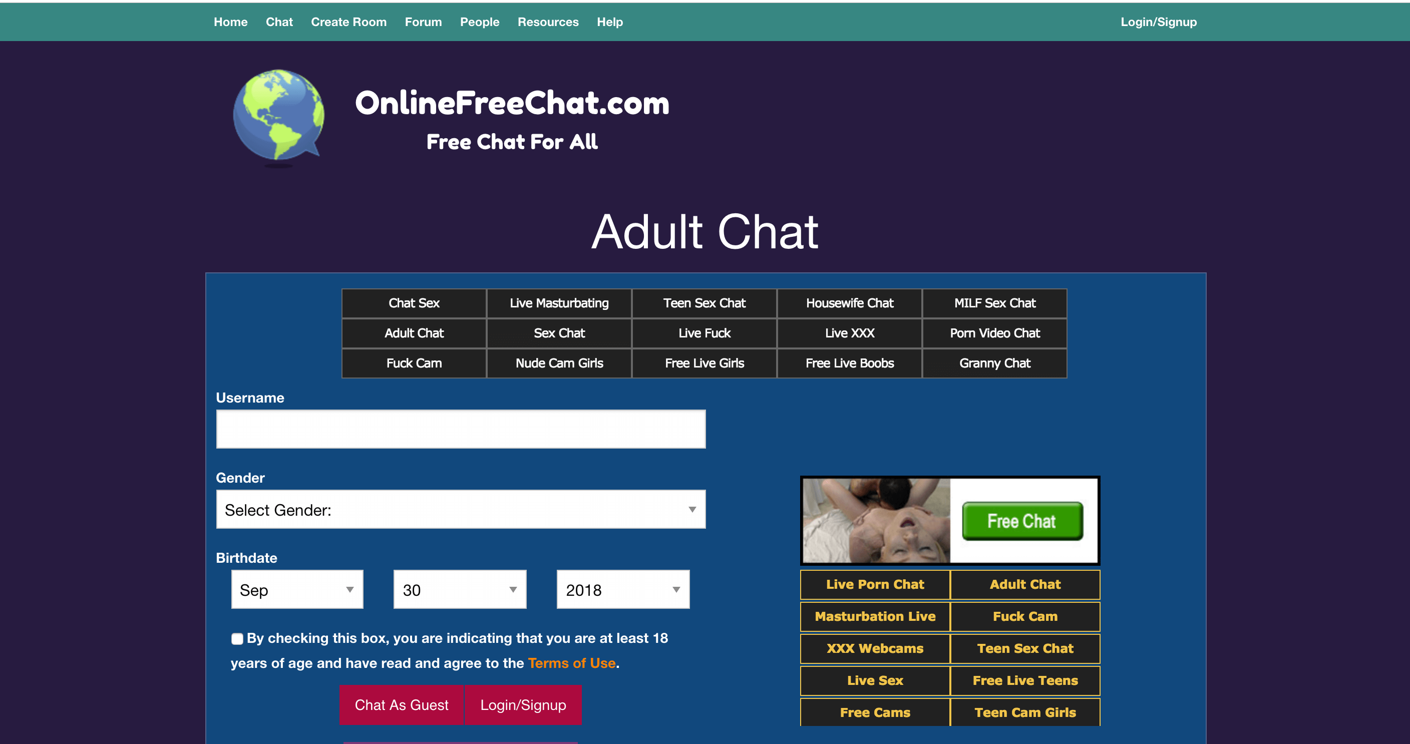Gratis Chat All Of The Adult Chat Rooms That You Can Use For Free 2018