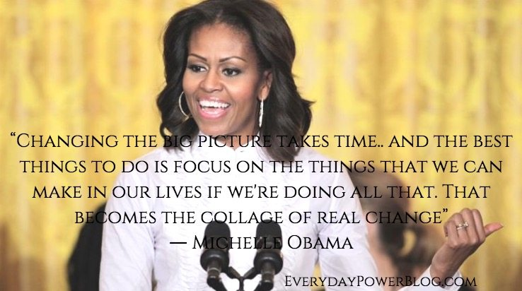 Inspirational Quotes By Michelle Obama The Insider Tales