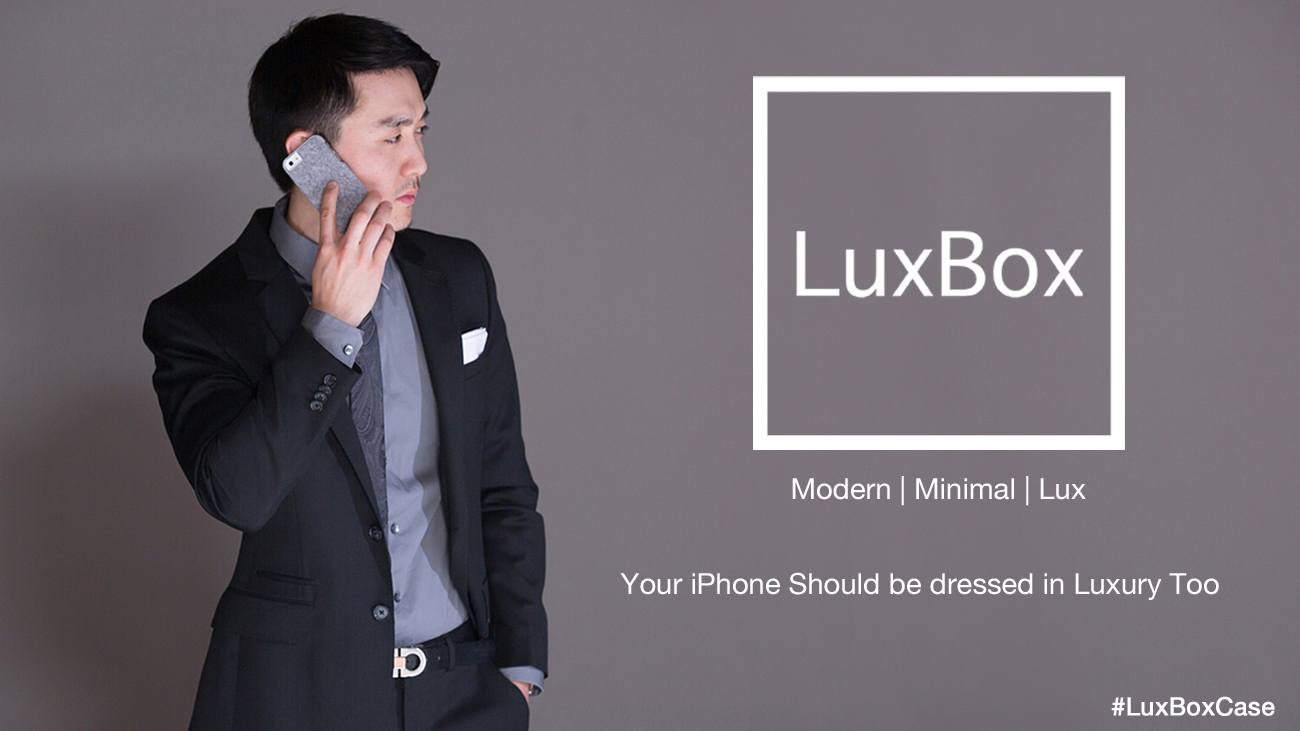 luxbox case for iphone by theWTFactory