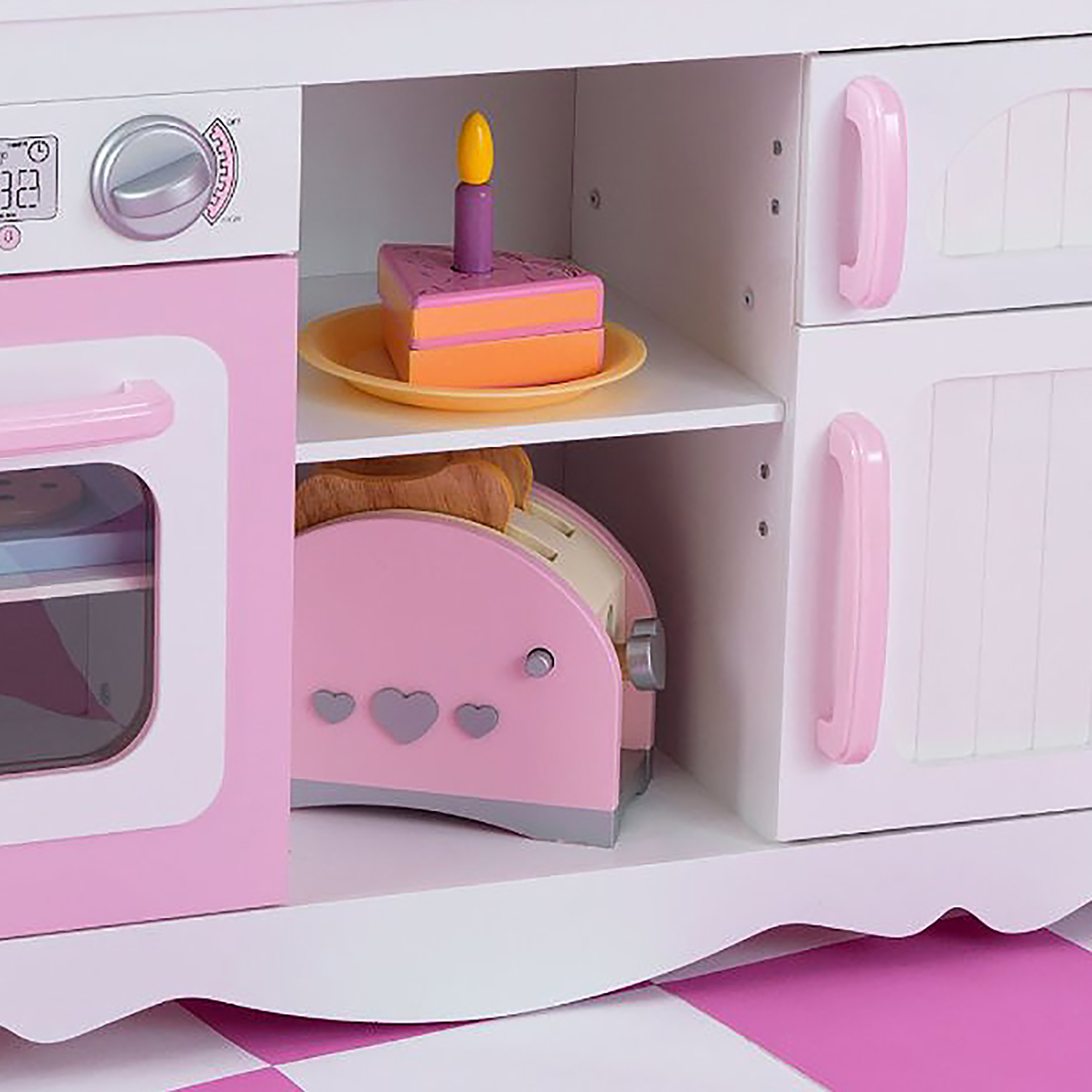 Kidkraft Modern Country Küche 53222 Kidkraft 53222 Modern Country Kitchen Toy Ebay