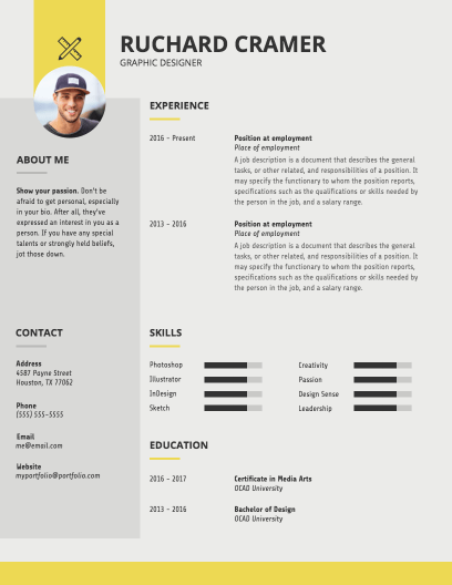 how to make my own resume template